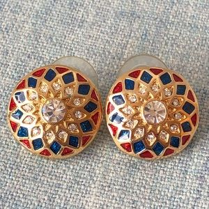 Jewelry - Red White Blue 4 of July post earrings